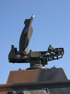 Vue du radar RATAC