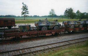 VAB RATAC convoi ferroviaire